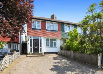 Thumbnail 3 bedroom end terrace house for sale in Meadway, Tolworth, Surbiton