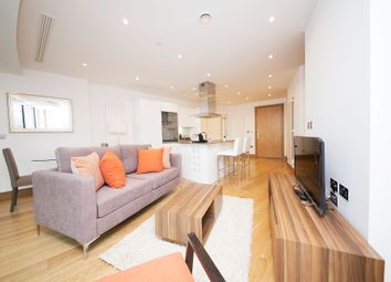 Thumbnail 1 bedroom flat to rent in Arena Tower, 25 Crossharbour Plaza, Canary Wharf, London
