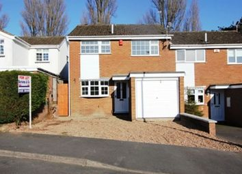 Thumbnail 3 bed semi-detached house to rent in Windermere Close, Earl Shilton, Leicester