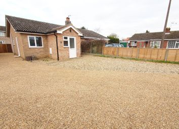 Thumbnail 2 bedroom semi-detached bungalow for sale in Woodside Close, Attleborough