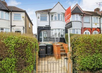 Thumbnail 3 bed terraced house to rent in River Way, Luton