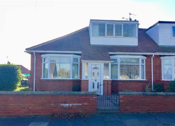 Thumbnail 3 bed semi-detached bungalow for sale in Northfield Road, South Shields