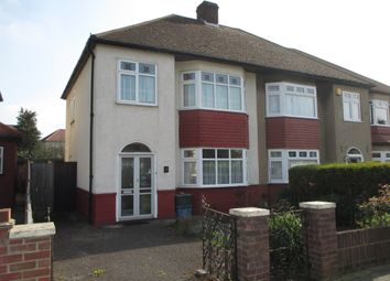 Thumbnail 3 bed semi-detached house for sale in Longport Close, Hainault