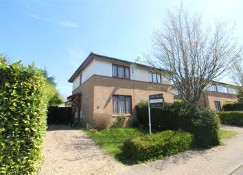 Thumbnail 2 bedroom semi-detached house for sale in Hadley Place, Bradwell Common, Milton Keynes, Buckinghamshire