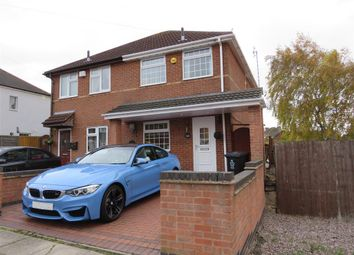 Thumbnail 2 bed semi-detached house to rent in Roydene Crescent, Leicester