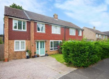 Thumbnail 4 bed semi-detached house for sale in Southdown Close, Haywards Heath