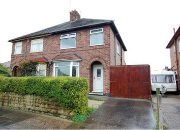 Thumbnail 3 bedroom semi-detached house for sale in Roy Avenue, Beeston