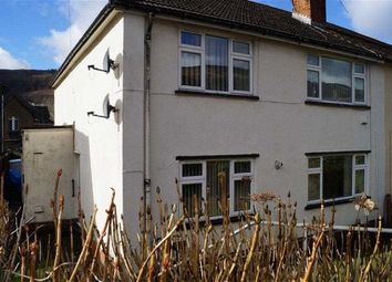 Thumbnail 2 bed flat to rent in The Poplars, Mountain Ash