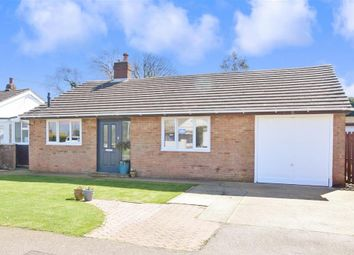 Thumbnail 2 bed detached bungalow for sale in Albany Road, Capel Le Ferne, Folkestone, Kent