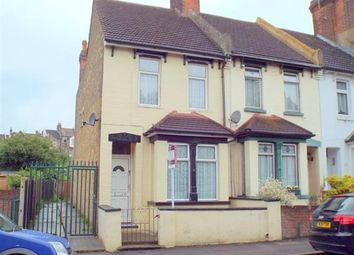 Thumbnail 4 bedroom end terrace house for sale in Cliffe Road, Strood, Rochester