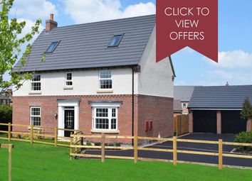 "Thumbnail 5 bed detached house for sale in ""Moorecroft"" at Welbeck Avenue, Burbage, Hinckley"