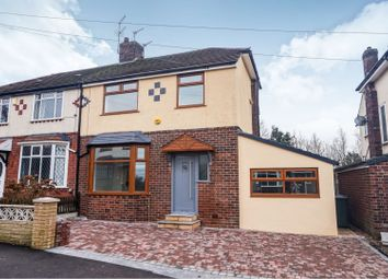 Thumbnail 4 bed semi-detached house for sale in Hillside Avenue, Oldham