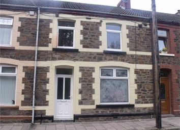 Thumbnail 3 bed terraced house to rent in Leslie Terrace, Llwyncelyn, Porth, Rhondda Cynon Taff.