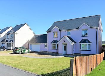 Thumbnail 4 bed detached house for sale in Bowls Road, Blaenporth, Cardigan