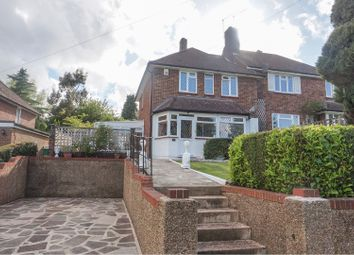 Thumbnail 3 bed semi-detached house for sale in Onslow Gardens, Sanderstead, South Croydon