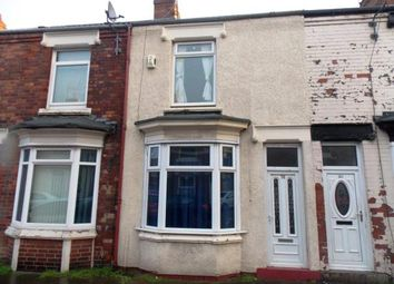 Thumbnail 2 bedroom terraced house for sale in Maria Street, Middlesbrough