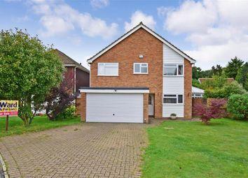 Thumbnail 4 bed detached house for sale in Eddington Close, Maidstone, Kent