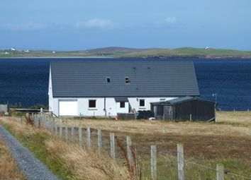 Thumbnail 4 bed detached house for sale in Sandness, Shetland