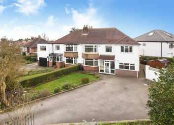 Thumbnail 5 bed semi-detached house for sale in Mount Drive, Alwoodley, Leeds