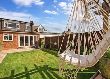 Thumbnail 4 bed semi-detached bungalow for sale in Clavering Gardens, West Horndon, Brentwood, Essex