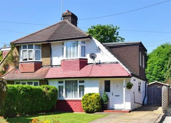 Thumbnail 3 bed semi-detached house for sale in Tushmore Lane, Northgate, Crawley, West Sussex