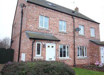 Thumbnail 4 bed semi-detached house for sale in Moorland Way, Sherburn In Elmet, Leeds