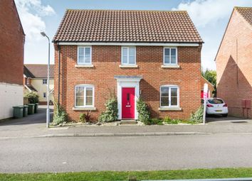 Thumbnail 3 bed detached house for sale in Lomond Road, Attleborough