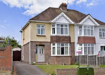 Thumbnail 3 bedroom semi-detached house for sale in Bedhampton Hill, Havant, Hampshire