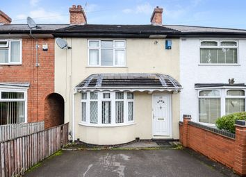 Thumbnail 3 bed terraced house to rent in Kelby Road, Northfield, Birmingham