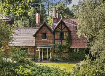 Thumbnail 3 bed detached house for sale in Old Avenue, St. Georges Hill, Weybridge