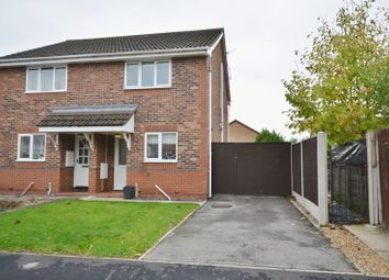 Thumbnail 2 bed semi-detached house to rent in Sorrel Way, Scunthorpe