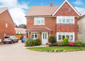 Thumbnail 4 bed detached house for sale in Dunnock Lane, Hailsham