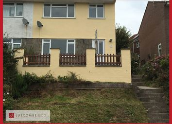 Thumbnail 3 bed semi-detached house to rent in Brierley Close, Risca, Newport