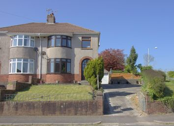 Thumbnail 3 bed semi-detached house for sale in Bryn Llidiard, Litchard, Bridgend.