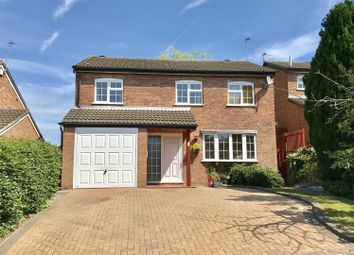 Thumbnail 4 bed detached house for sale in Milton Close, Melton Mowbray