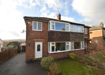 Thumbnail 3 bed semi-detached house for sale in Banksfield Crescent, Yeadon, Leeds