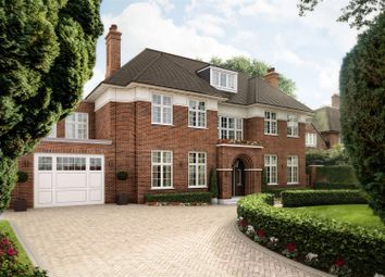 Thumbnail 6 bed detached house for sale in Compton House, Compton Avenue