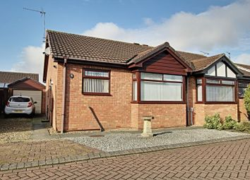 Thumbnail 2 bed semi-detached bungalow for sale in Hunter Close, Preston, Hull