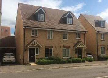 Thumbnail 3 bed semi-detached house for sale in Grenada Crescent, Newton Leys, Bletchley, Milton Keynes