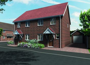 Thumbnail 3 bed end terrace house for sale in Meadowlands, Beccles