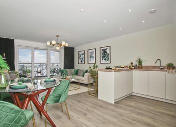 Thumbnail 2 bedroom flat for sale in Augustus Way, St Mary's Island, Chatham