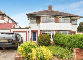 Thumbnail 3 bed semi-detached house for sale in Molescroft, London