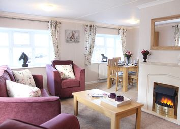 Thumbnail 2 bed mobile/park home for sale in Ranksborough Drive, Langham, Oakham