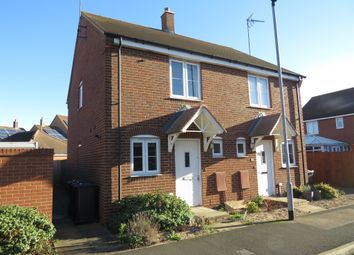 Thumbnail 2 bed semi-detached house for sale in Poppy Close, Yaxley, Peterborough