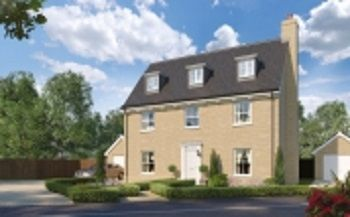 Thumbnail 5 bed detached house for sale in The Burdock, Reach Road, Burwell, Cambridgeshire
