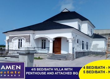 Thumbnail 4 bed villa for sale in 4 Bed Villa, Amen Estate Phase 2 Eleko Beach Road Ibeju-Lekki Lagos, Nigeria