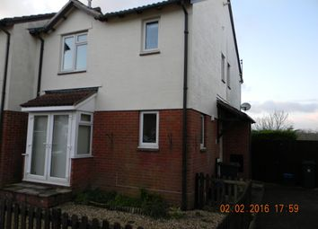 Thumbnail 2 bed end terrace house to rent in Steel Close, Honiton