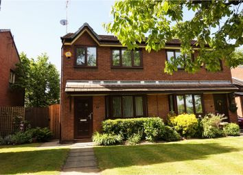 Thumbnail 3 bed semi-detached house for sale in Crescent Grove, Prestwich