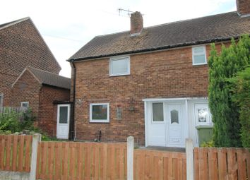 Thumbnail 2 bed semi-detached house for sale in Kilton Glade, Worksop
