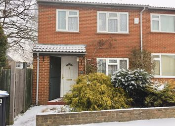 Thumbnail 3 bed semi-detached house for sale in Swallowfield, Englefield Green, Egham